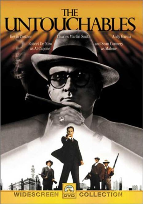 De ubestikkelige (The Untouchables) -1987- (DVD)