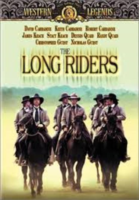 The Long Riders - 1980 - (DVD)