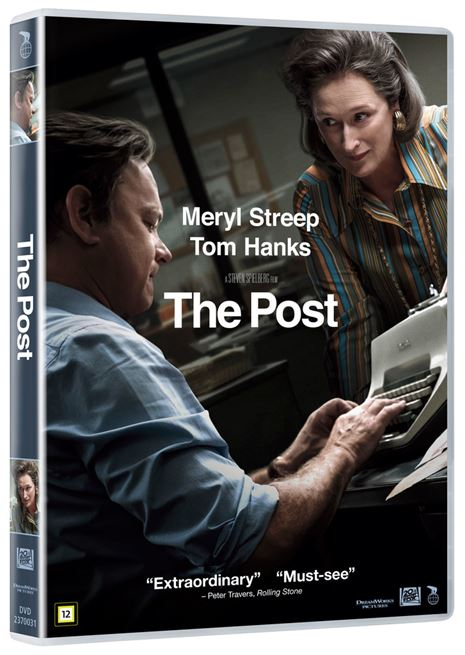 The Post - 2018 - (DVD)